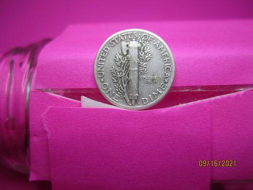 1942 Mercury Dime With No Mint Mark