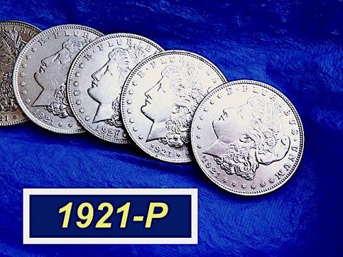 "1921-P MORGAN Silver Dollar  ⭐️ Outstanding ""AU-58"" Coin ⭐️ (5111.3)"