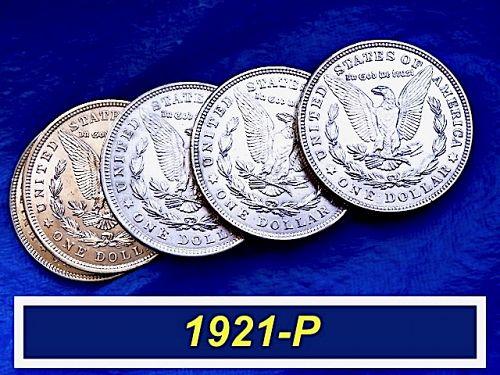 "1921-P MORGAN Silver Dollar  ⭐️ Outstanding ""AU-58"" Coin ⭐️ (5111.4)"
