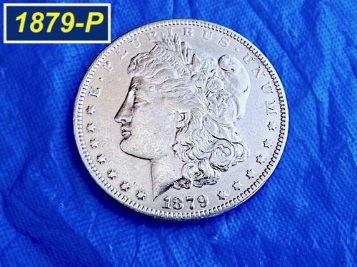 1879-P Morgan Dollar  ⭐️  Circulated ⭐️ Die Clashes ⭐️  (5011)