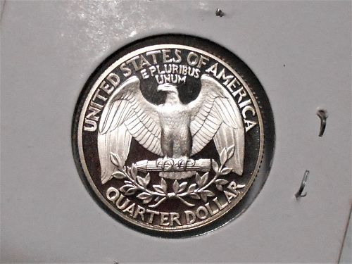 1986 S Proof Washington quarter