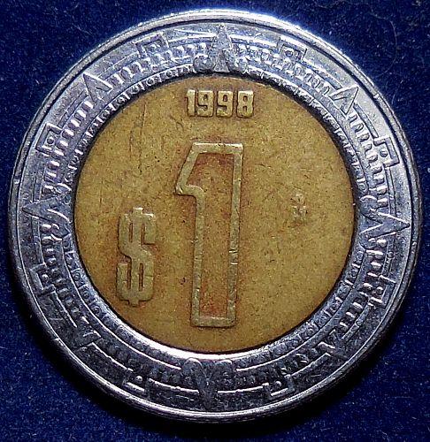 1998 Mexicanos One Dollar