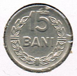 15 Bani, Romania, 1966