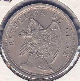 Chile 20 Centavos 1921