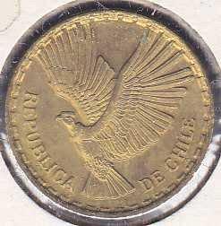 Chile 2 Centesimo 1969