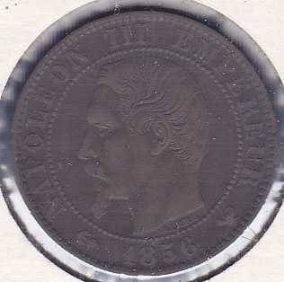 France 5 Centimes 1856W