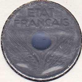 France 10 Centimes 1941