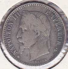 France 50 Centimes 1866A