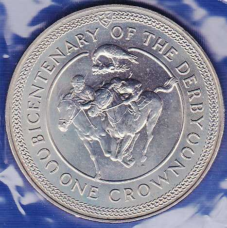 Isle of Man Crown 1980