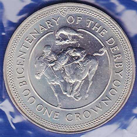 Isle of Man Crown 1980