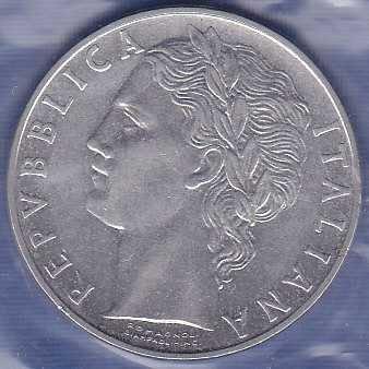 Italy  100 Lira 1959