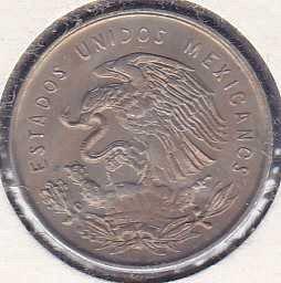 Mexico  5 Centavos 1950