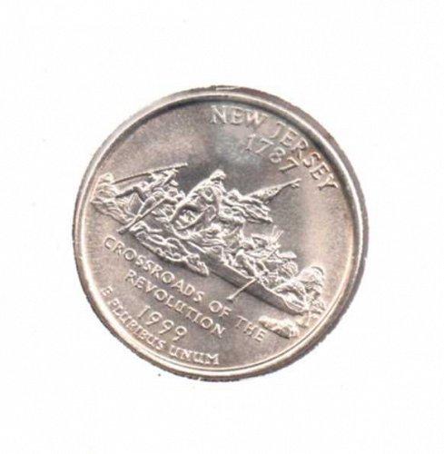 1999p BU New Jersey Washington Quarter