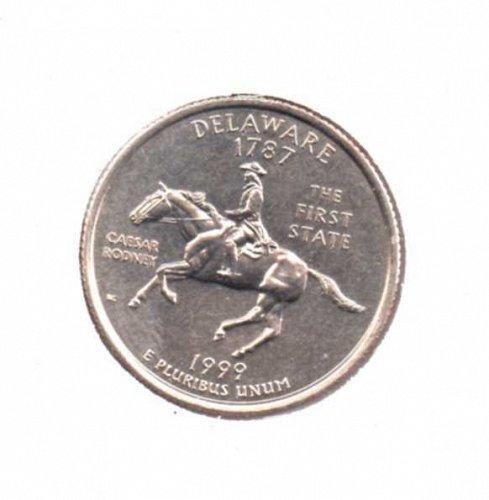 1999 D BU Delaware Washington Quarter #1