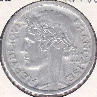 France 2 Francs 1944