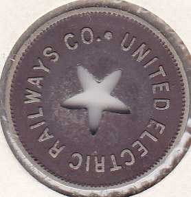 United Electric Railways Co. token