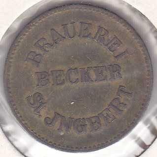 Brauerei Becker Beer Token 1 Ltr.