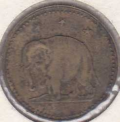 Beer Token (Elephant on token)
