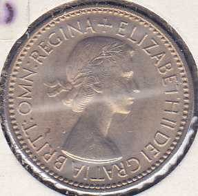 Great Britain 1 Shilling 1953