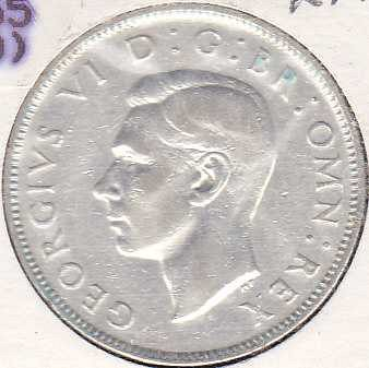 Great Britain 2 Shillings 1939