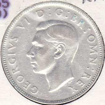 Great Britain 2 Shillings 1939