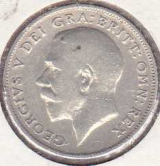 Great Britain 6 Pence 1916