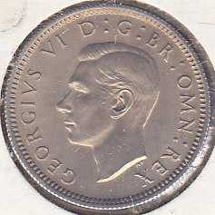 Great Britain 6 Pence 1947