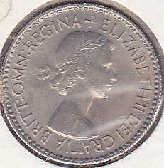 Great Britain 6 Pence 1953