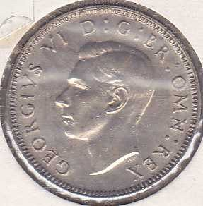 Great Britain 1 Shilling 1943