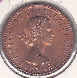 Great Britain 1 Farthing 1955
