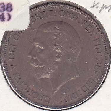 Great Britain 1 Penny 1935