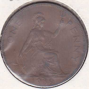 Great Britain 1 Penny 1939