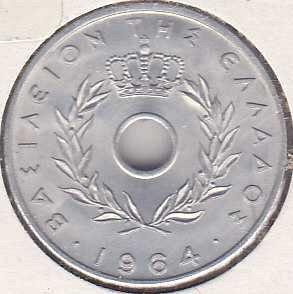 Greece 20 Lepta 1964