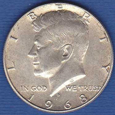 1968D Kennedy Half Dollar