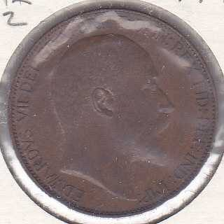 Great Britain 1/2 Penny 1908