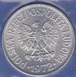Poland 20 Groszy 1972