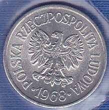 Poland 10 Groszy 1968