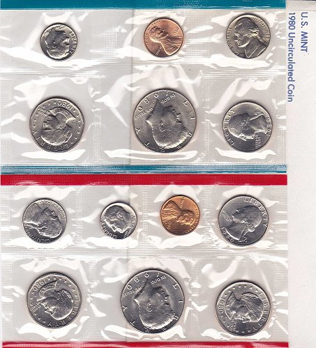 1980 US Mint Set