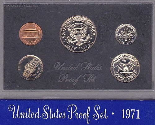 1971S US Proof Set
