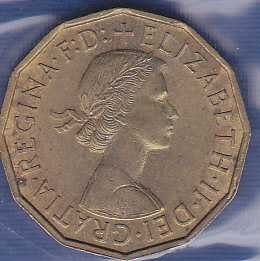 Great Britain 3 Pence 1959