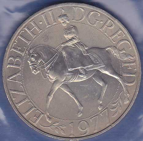 Great Britain 25 New Pence 1977