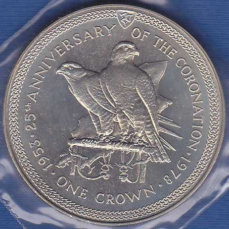 Isle of Man Crown 1978