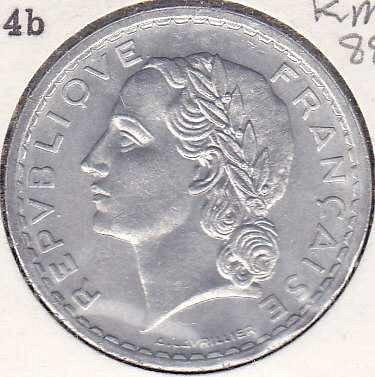 France 5 Francs 1949