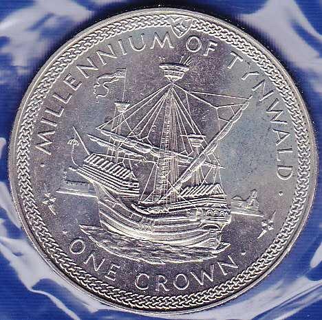 Isle of Man Crown 1979