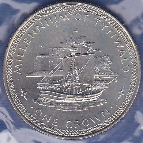 Isle of Man Crown 1979