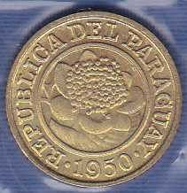 Paraguay 1 Centimo 1950