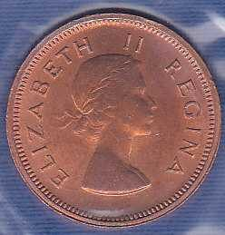 South Africa 1/4 Penny 1960