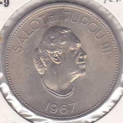 Tonga 50 Seniti 1967