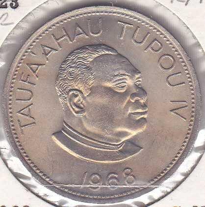 Tonga 50 Seniti 1968