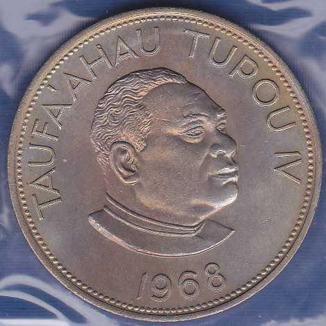 Tonga 1 Pa'anga 1968